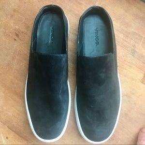 Vince Verrell Slip-on Suede Sneaker